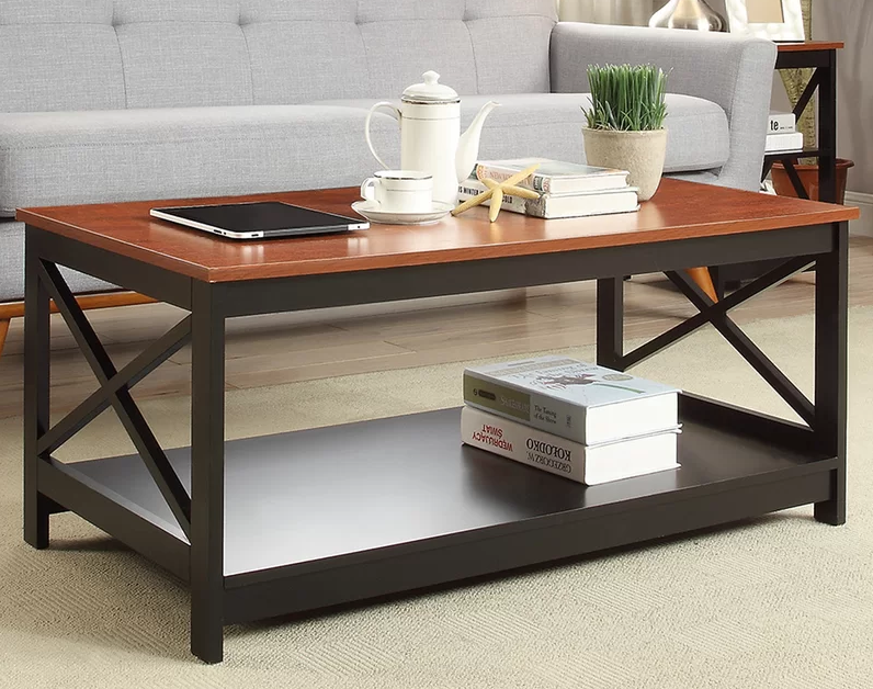 Madie Wooden Centre Table - The Furniture Park